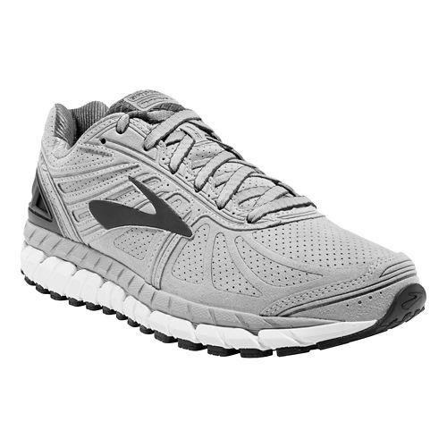 Mens Brooks Beast 16 Running Shoe - Silver/Blue 11.5