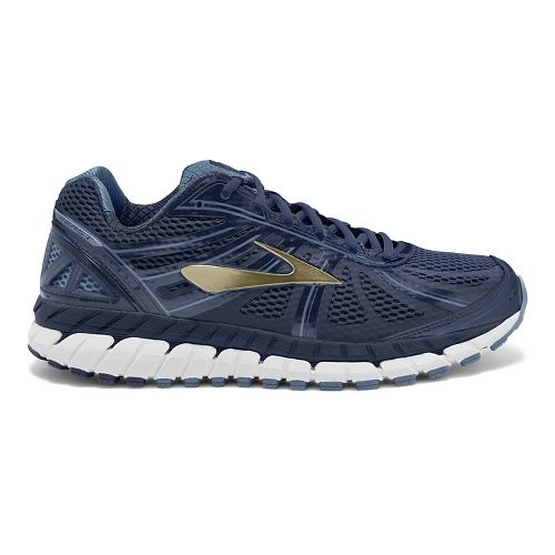 Mens Brooks Beast 16 Running Shoe - Navy/Gold 15