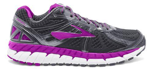 Womens Brooks Ariel 16 Running Shoe - Anthracite/Purple 10