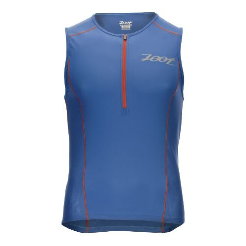 Mens Zoot Active Tri Mesh Sleeveless & Tank Technical Tops - Vivid Blue M