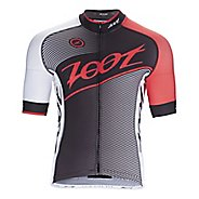 Mens Zoot Cycle Team Jersey Short Sleeve Technical Tops