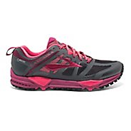 Womens Brooks Cascadia 11 GTX Trail Running Shoe - Anthracite/Berry 6