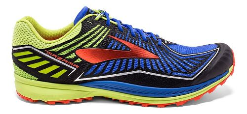 Mens Brooks Mazama Trail Running Shoe - Electric Brooks Blue 7