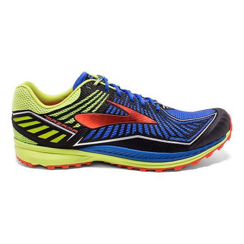 Mens Brooks Mazama Trail Running Shoe - Neon/Black 11