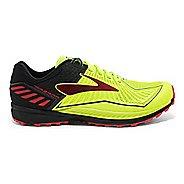 Mens Brooks Mazama Trail Running Shoe - Neon/Black 9.5