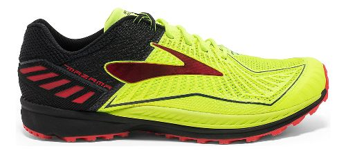 Mens Brooks Mazama Trail Running Shoe - Neon/Black 12.5