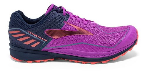 Womens Brooks Mazama Trail Running Shoe - Purple Cactus Flower 5