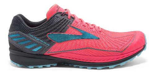 Womens Brooks Mazama Trail Running Shoe - Pink/Anthracite 9
