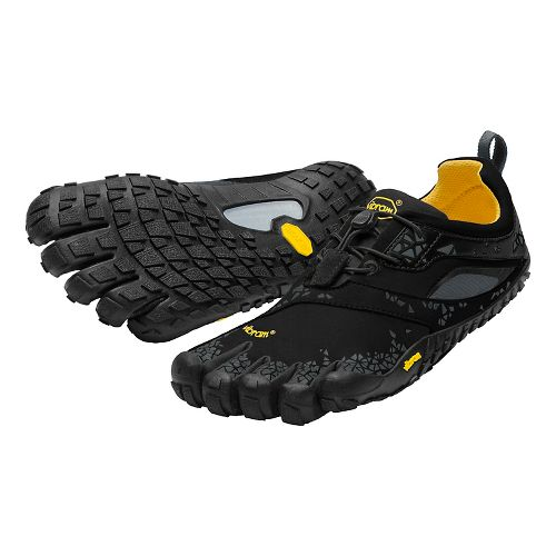 Womens Vibram FiveFingers Spyridon MR Trail Running Shoe - Black/Grey 36