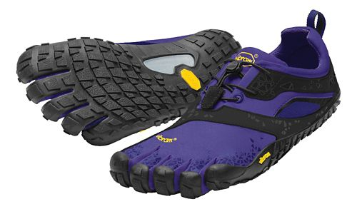 Womens Vibram FiveFingers Spyridon MR Trail Running Shoe - Purple/Black 37