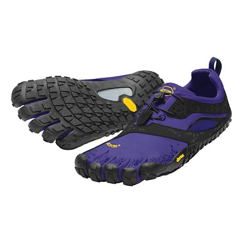 Womens Vibram FiveFingers Spyridon MR Trail Running Shoe - Purple/Black 36