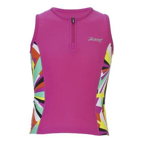 Zoot Girls Protege Tri Sleeveless & Tank Technical Tops - Kaleidoscope YL