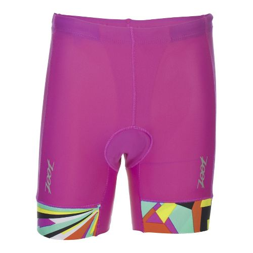 Zoot Girls Protege Tri Compression & Fitted Shorts - Passion Fruit YXL