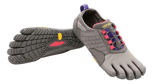 Womens Vibram FiveFingers Trek Ascent Trail Running Shoe - Grey/Lilac 41