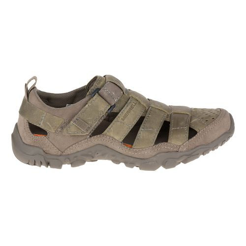 Womens Merrell Capra Bolt Waterproof Hiking Shoe - Grey 5.5