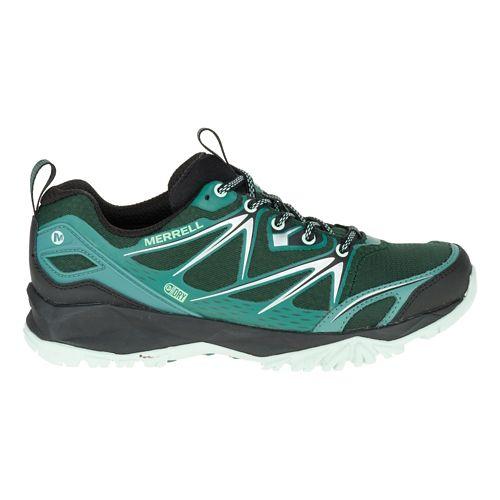Womens Merrell Capra Bolt Waterproof Hiking Shoe - Pine Grove 9.5