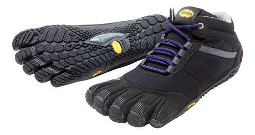 Womens Vibram FiveFingers Trek Ascent Insulated Trail Running Shoe - Black/Purple 40