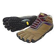 Womens Vibram FiveFingers Trek Ascent Insulated Trail Running Shoe - Brown/Grape 38