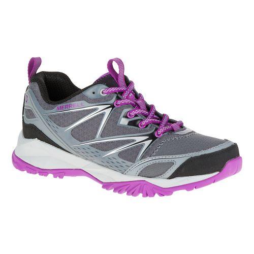 Womens Merrell Capra Bolt Hiking Shoe - Grey 5.5