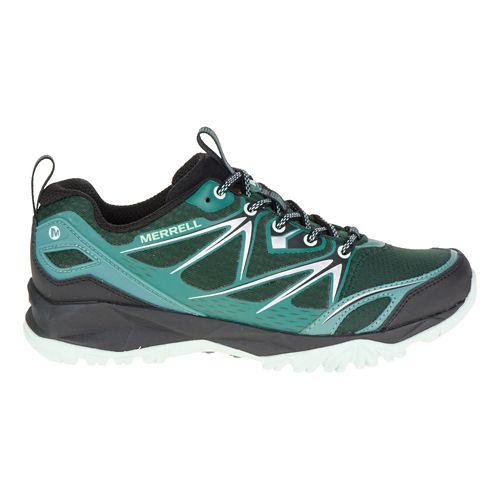 Womens Merrell Capra Bolt Hiking Shoe - Pine Grove 7