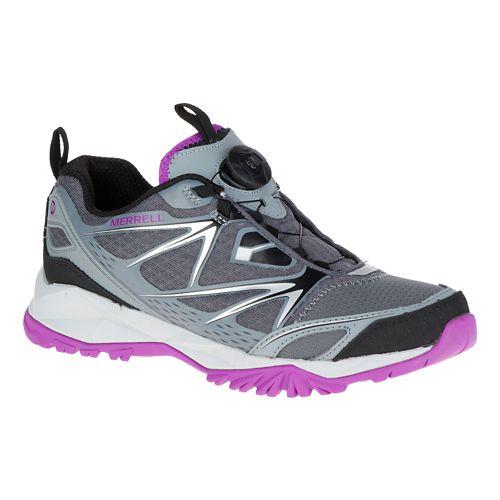Mens Merrell Capra Bolt Boa Hiking Shoe - Grey 9.5