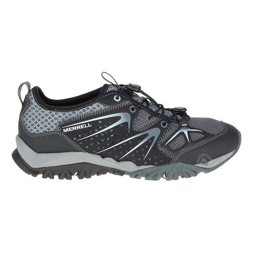 Womens Merrell Capra Rapid Hiking Shoe - Black 5
