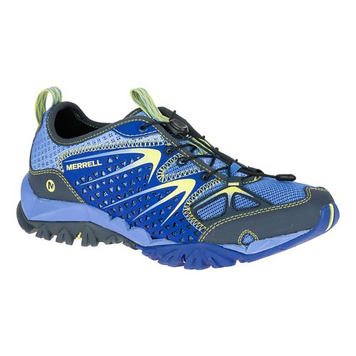 Womens Merrell Capra Rapid Hiking Shoe - Purple 6.5