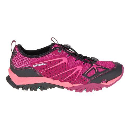 Womens Merrell Capra Rapid Hiking Shoe - Bright Red 11
