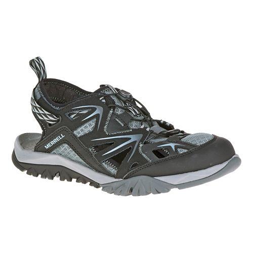 Womens Merrell Capra Rapid Sieve Hiking Shoe - Black 8