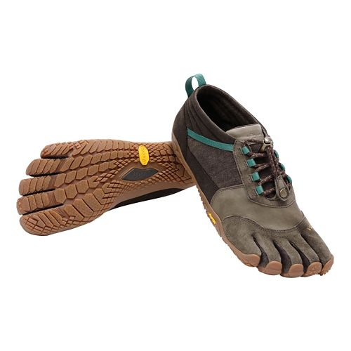 Womens Vibram FiveFingers Trek Ascent LR Trail Running Shoe - Brown/Green 38