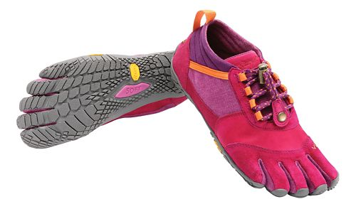 Womens Vibram FiveFingers Trek Ascent LR Trail Running Shoe - Pink/Orange 39