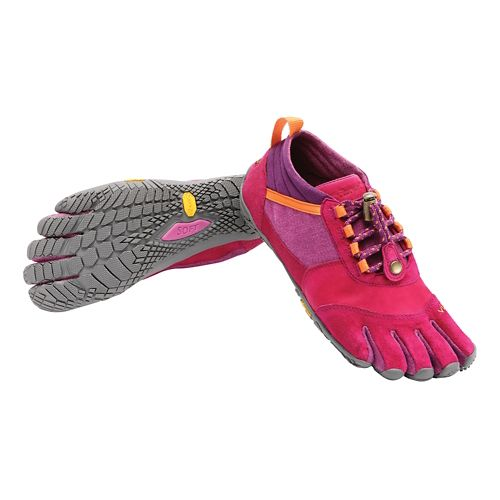 Womens Vibram FiveFingers Trek Ascent LR Trail Running Shoe - Pink/Orange 37