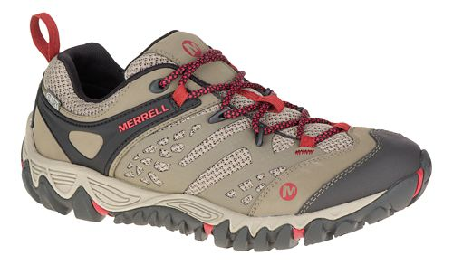 Womens Merrell All Out Blaze Vent Waterproof Hiking Shoe - Brown 9.5