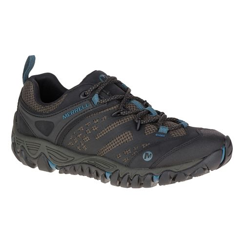 Womens Merrell All Out Blaze Vent Hiking Shoe - Black 10.5