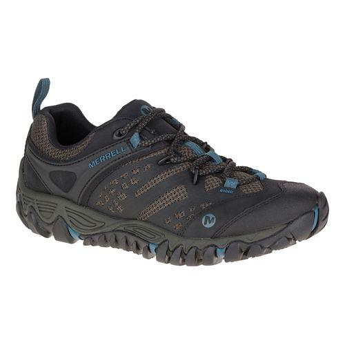 Womens Merrell All Out Blaze Vent Hiking Shoe - Black 5.5