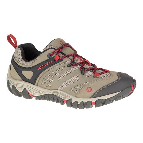 Womens Merrell All Out Blaze Vent Hiking Shoe - Bright Green 9.5