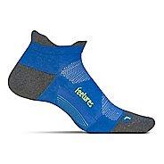 Feetures Elite Max Cushion No Show Tab Socks - True Blue L