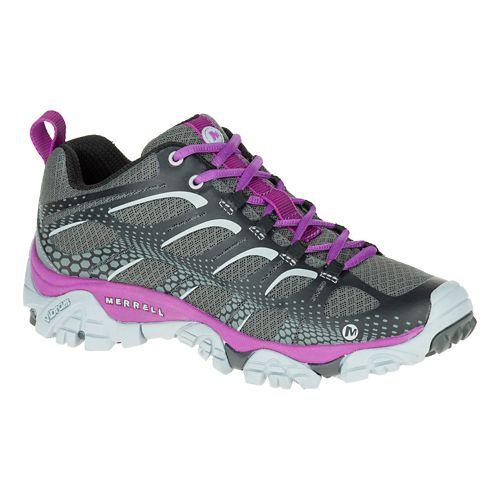 Womens Merrell Moab Edge Hiking Shoe - Black 6