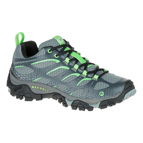 Womens Merrell Moab Edge Hiking Shoe - Grey 10