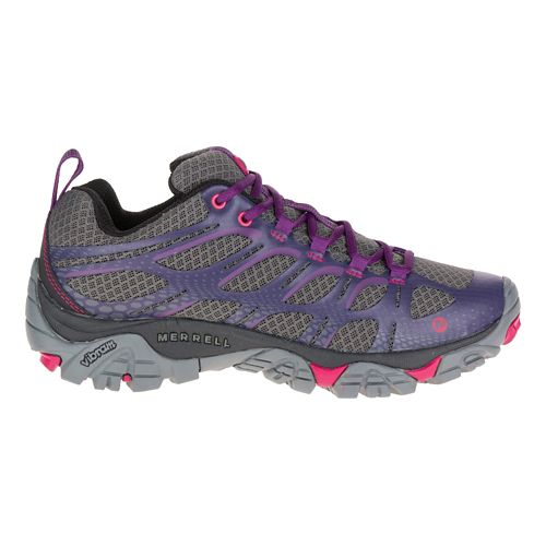 Womens Merrell Moab Edge Hiking Shoe - Plum Plumeria 9