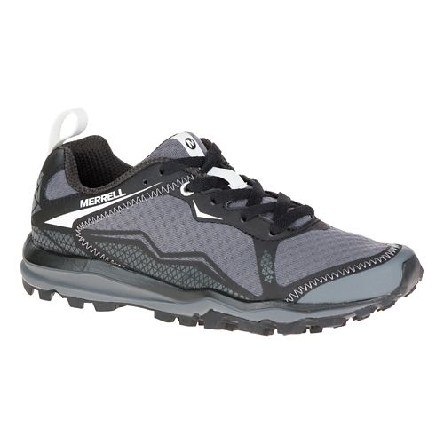 Womens Merrell All Out Crush Light Trail Running Shoe - Black 7.5