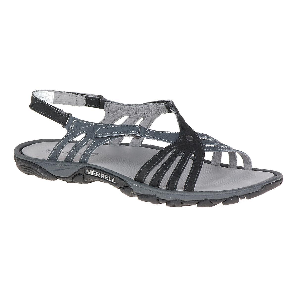 Black merrell sandals - Black Merrell Sandals 31