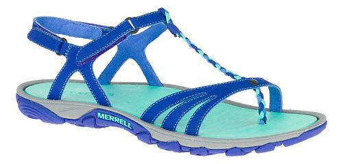 Womens Merrell Enoki Twist Hiking Shoe - Light Blue 8