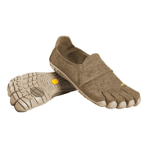 Mens Vibram FiveFingers CVT-Hemp Casual Shoe - Khaki 44