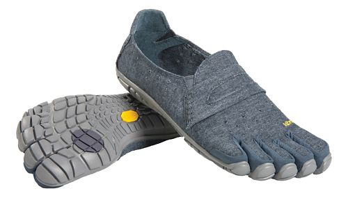 Mens Vibram FiveFingers CVT-Hemp Casual Shoe - Navy/Grey 42