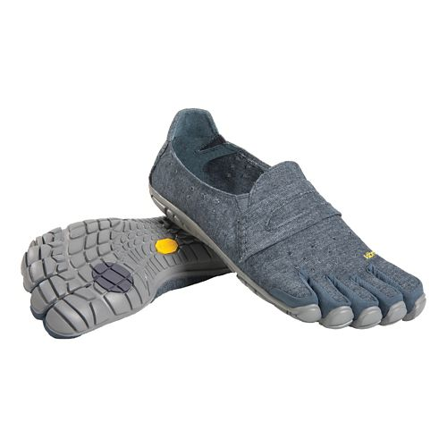 Mens Vibram FiveFingers CVT-Hemp Casual Shoe - Navy/Grey 45