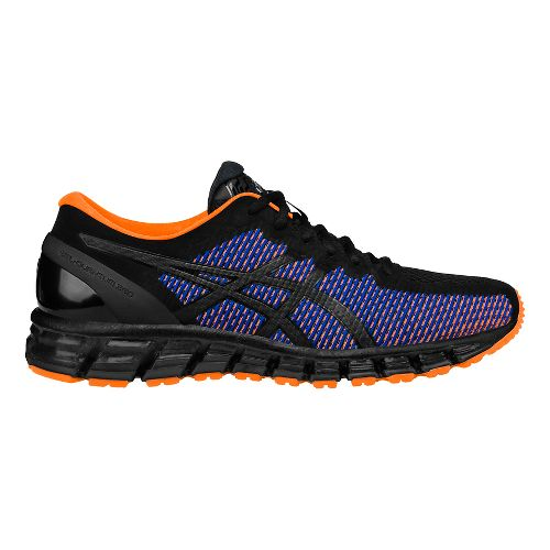 Mens ASICS GEL-Quantum 360 CM Running Shoe - Black/Orange 12.5