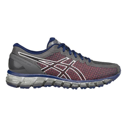 Mens ASICS GEL-Quantum 360 CM Running Shoe - Grey/Silver 8.5
