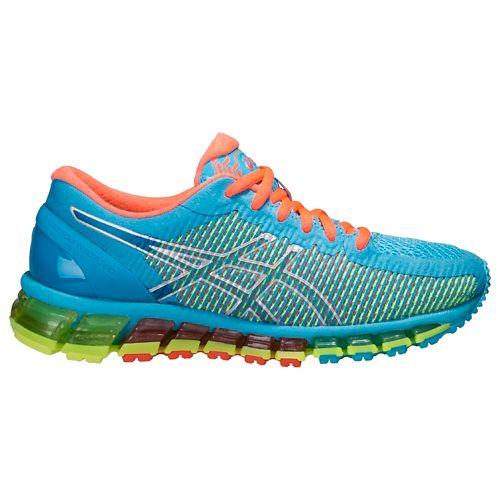 Womens ASICS GEL-Quantum 360 CM Running Shoe - Aqua/Coral 10.5