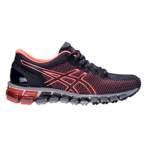 Womens ASICS GEL-Quantum 360 CM Running Shoe - Navy/Coral 8